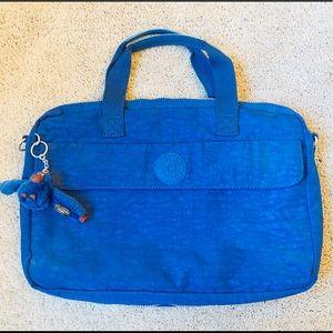 Kipling Messenger/Laptop Bag Ink Blue